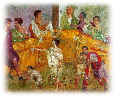 Cultura gastronómica en el Imperio Romano