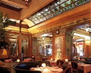 Interior de la Brasserie Mollard
