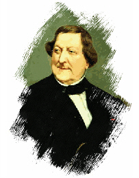 Retrato de Rossini